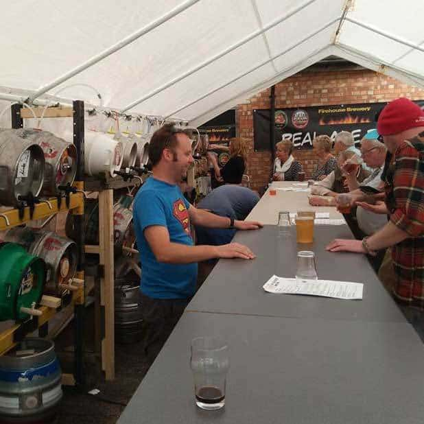 Beer festival Louth