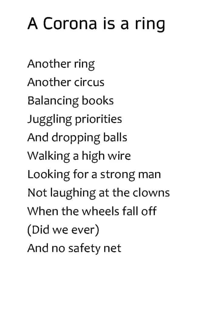 """Corona is a Ring"" by Rob Joynson"