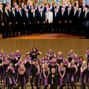 louth male voice choir and Zero Degrees Chorus