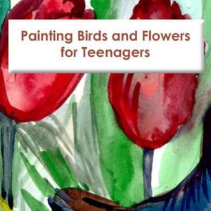 painting birds flowers fir teenagers