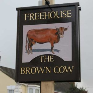 brown cow pub