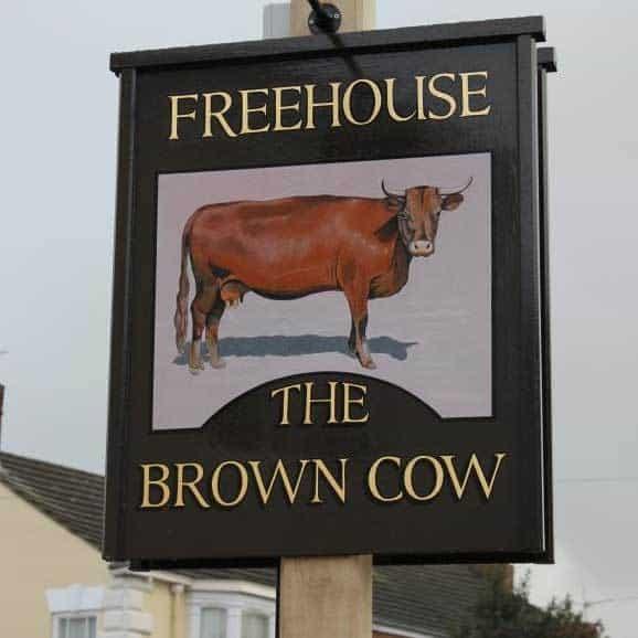 brown cow pub