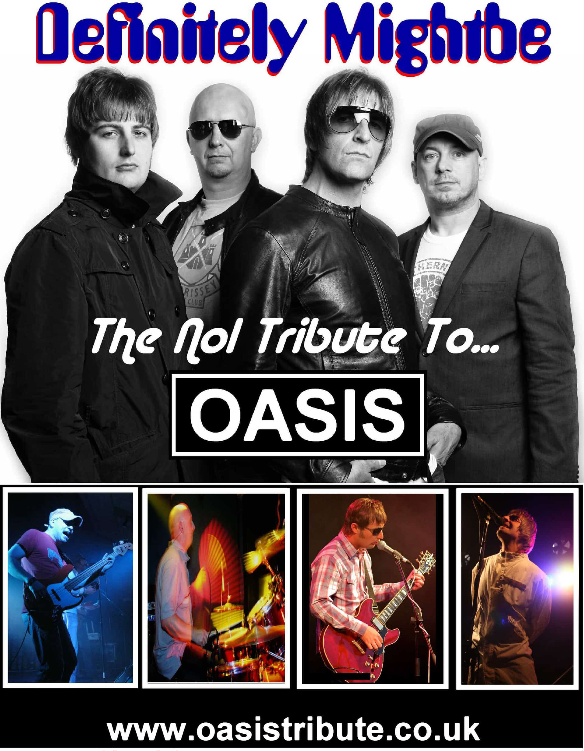 Definitely Might be - Oasis Tribute