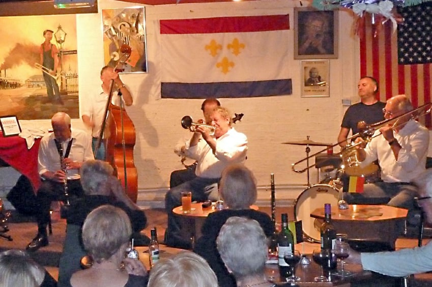 Live New Orleans Jazz at the historic Louth Jazz Club