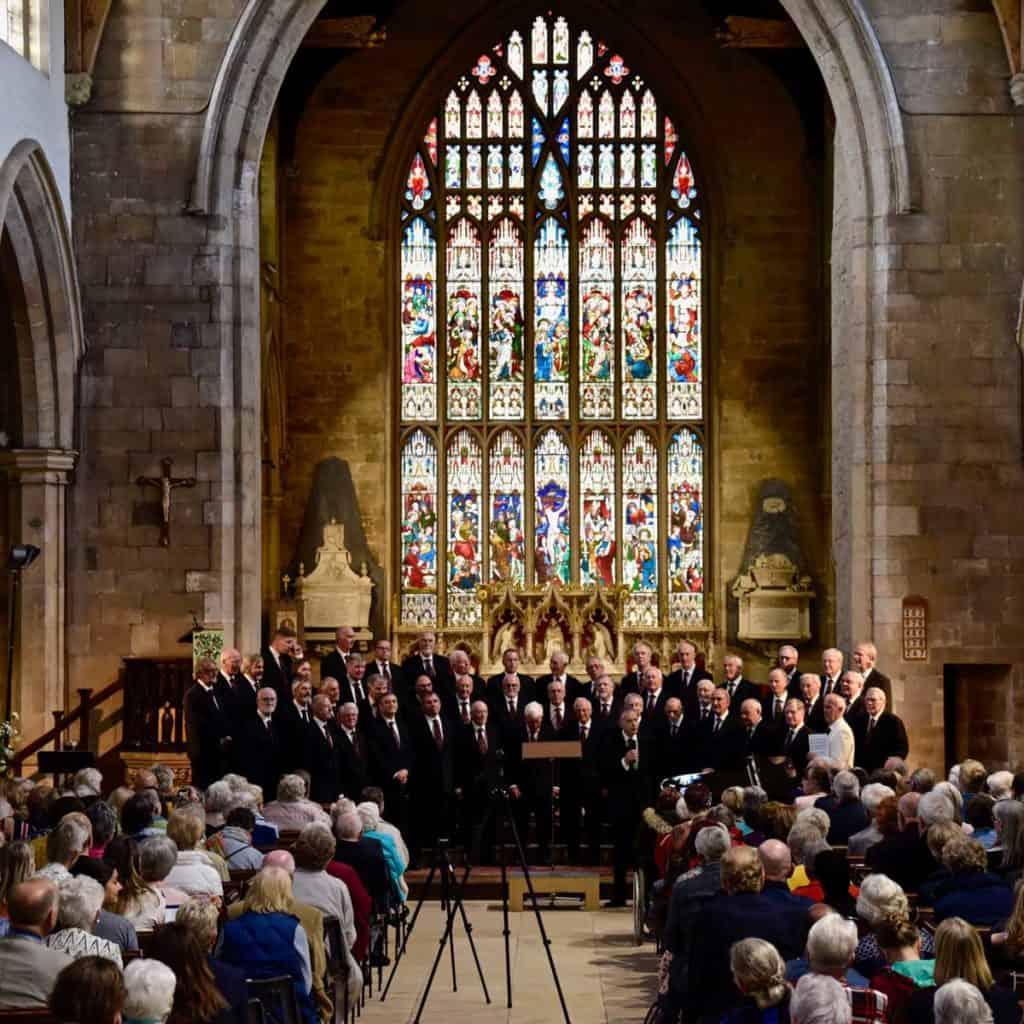 Male Voice Choir - photo Chris Smith