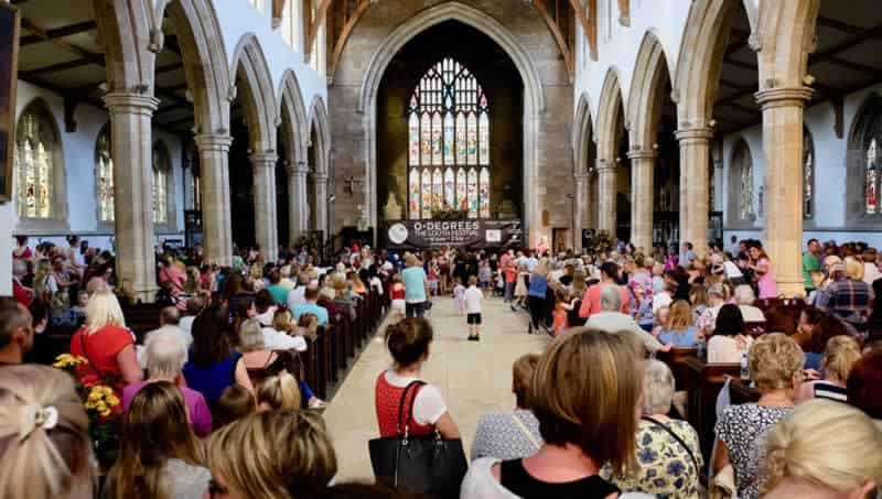 Party in the Pews, Louth © Chris Smith