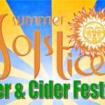 The Summer Solstice Beer & Cider Festival