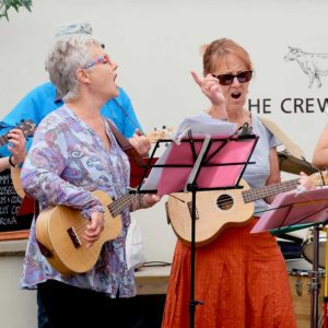Ukulele band copyright Chris Smith